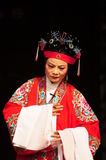 Chinese opera performer Royalty Free Stock Photo