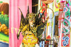 Chinese opera. Is a popular form of drama and musical theatre in China . Location Sombun God Shrine chinese Shrine at Donmuang near Donmuang Airport Newyear royalty free stock photos