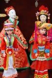 Chinese opera puppet Stock Image