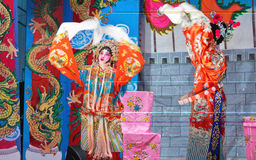 Chinese Opera Stage Performance Royalty Free Stock Images