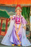 Chinese opera street performance Royalty Free Stock Images