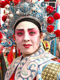 Chinese Opera woman portrait Stock Image