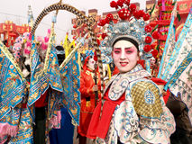 Chinese Opera woman portrait Stock Photo