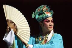 Chinese operaacteur royalty-vrije stock foto