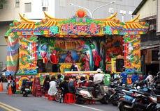 Chinese Operaprestaties Royalty-vrije Stock Foto's
