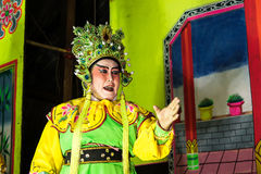 Chinese Operaprestaties royalty-vrije stock foto