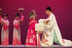Chinese operaprestaties het Pioenpaviljoen royalty-vrije stock foto