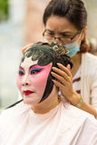 Chinese operas make up Royalty Free Stock Photos