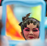 Chinese operas make up Royalty Free Stock Image