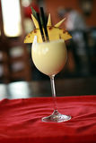 Chinese or oriental cream drink Royalty Free Stock Image