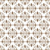 Ornamental Oriental Brown Floral Beautiful Royal Vintage Spring Abstract Seamless Pattern Texture Wallpaper vector illustration