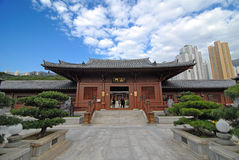 The Chinese Oriental Temple Stock Photo