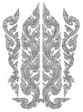 Chinese ornament. Vector illustration of chinese ornament #4 royalty free illustration