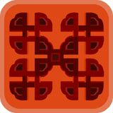 Chinese ornament. Beautiful vector illustration Royalty Free Stock Photography
