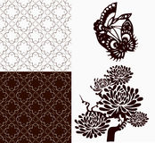 Chinese Ornament pattern Stock Images