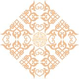 Chinese ornament 004. Chinese ornament, print for t-shirts, to cut vector illustration