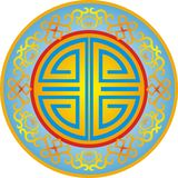 Chinese ornament 009. Chinese ornament, to cut, symbol , design east element,buddhist central china chinese Stock Images