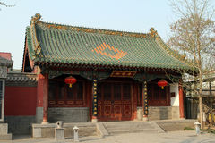 Chinese oude architectuur Stock Afbeeldingen