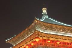 Chinese oude gebouwen van lokaal Stock Illustratie