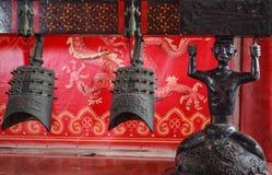 Chinese oude klokkengelui Royalty-vrije Stock Afbeeldingen