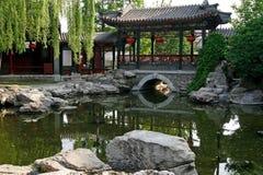 Chinese oude koninklijke tuin Stock Foto's