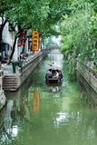 Chinese oude stad in Tongli stock afbeeldingen