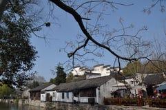 Chinese oude stad van nanxun stock afbeelding