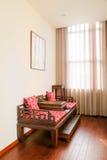 Chinese oude stijlstoelen stock fotografie