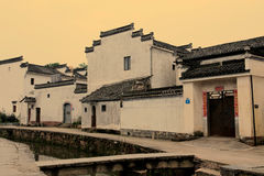 Chinese oude traditionele architectuur Stock Fotografie