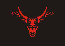 Chinese ox,symbol of 2009 year. Chinese ox,symbol of new 2009 year vector illustration