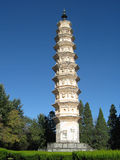 Chinese Pagoda Stock Photo