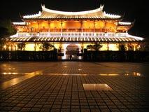 Chinese Pagoda. Lighty Chinese Pagoda Royalty Free Stock Photography