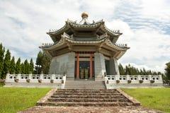 Chinese pagoda at day time Royalty Free Stock Image