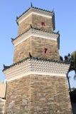 Chinese pagoda, Hong Kong Royalty Free Stock Photography