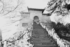 Chinese pagoda mount huashan Stock Image
