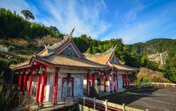 Chinese pagoda in Nachi, Japan royalty free stock image