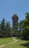 Chinese pagoda Stock Photos