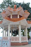 Chinese Pagoda at Panama Canal Royalty Free Stock Photography