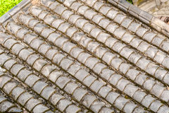 Chinese pagoda roof. background Royalty Free Stock Photo
