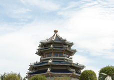 Chinese pagoda style Royalty Free Stock Photography