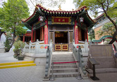 The Chinese pagoda in the temple of Wong tai Sin in Hong Kong. Stock Images