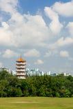 Chinese pagoda tower Royalty Free Stock Photos