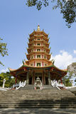 Chinese pagoda vertical format Stock Photo