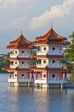 Chinese Pagodas Stock Image