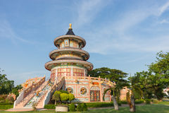 Chinese pagodas in Thailand. Beautiful architecture Royalty Free Stock Photography