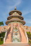 Chinese pagodas in Thailand. Beautiful architecture Stock Images