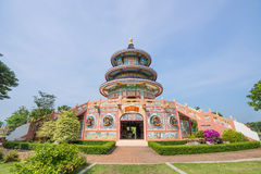 Chinese pagodas in Thailand. Beautiful architecture Stock Photos