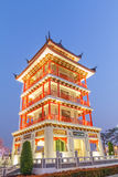 Chinese pagodas tower. Stock Images