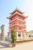 Chinese pagodas tower. Stock Photo