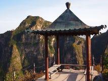 Chinese Pagode in Nationaal Park Stock Afbeeldingen